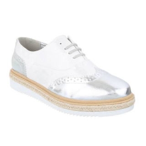 Pantofi casual , dama, Argintiu