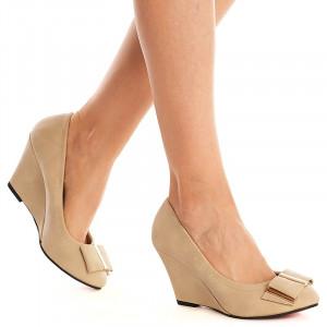 Pantofi cu platforma Susana nude