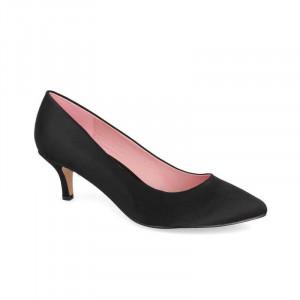 Pantofi Dama, Toc mic, Negru