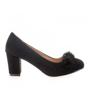 Pantofi office cu blana Anette