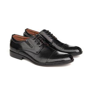 Pantofi office cu talpa sport Dinu negru