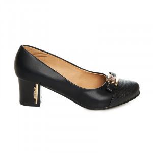 Pantofi office cu toc mediu gros Amelie