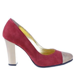 Pantofi office din piele naturala Layan