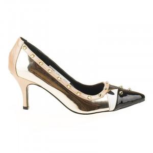 Pantofi stiletto Amira Gold