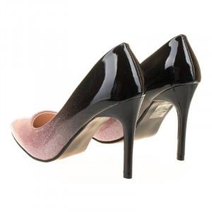 Pantofi stiletto chic Amira roz