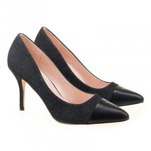Pantofi stiletto cu toc mediu Salma