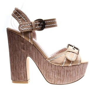 Sandale beige Mary