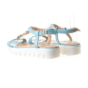 Sandale cu talpa joasa Cami blu