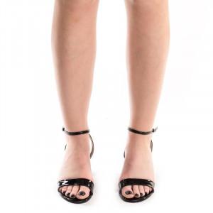Sandale cu toc chic Gerasole blk