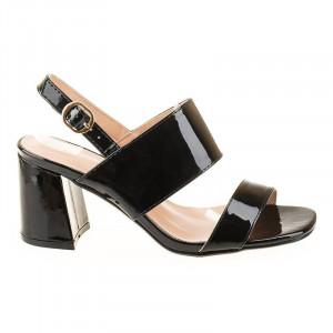 Sandale cu toc chic Maria blk