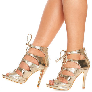 Sandale cu toc Fatima
