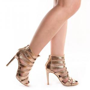 Sandale cu toc romane Dona