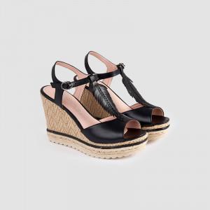 Sandale dama, ALVIRA, Negru