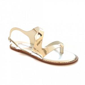 Sandale Dama, ANN, Argintiu