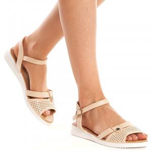 Sandale Dama Bej Lejere Camelia