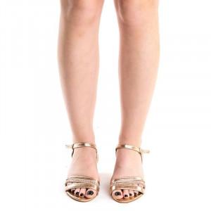 Sandale elegante cu toc mic Debora