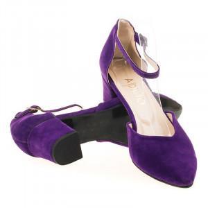 Sandale elegante din velur Lora