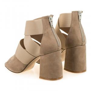 Sandale fashion cu toc gros Amalia