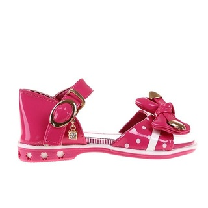 Sandale fete Ceila fucsia