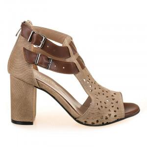 Sandale la moda cu toc Mia