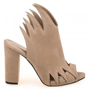 Sandale trendy cu toc Natalia