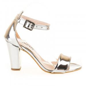 Sandale trendy metalice Alma