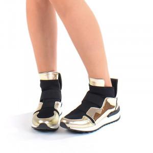 Sneakers stil dolce&gabbana gold Marta