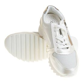 Sneakers trendy Carla white