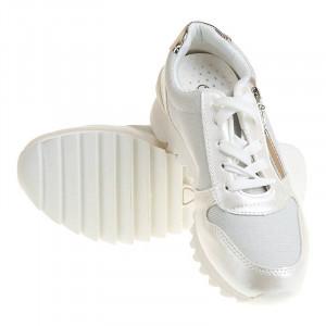 Sneakers trendy Carla white