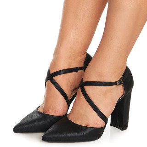 Pantofi cu toc mediu Sabrine negru