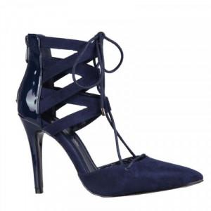 Pantofi dama eleganti, Navy