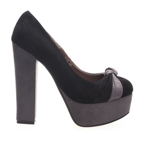 Pantofi dama negri Tent