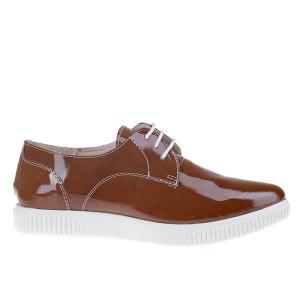 Pantofi din piele naturala Simone Matar