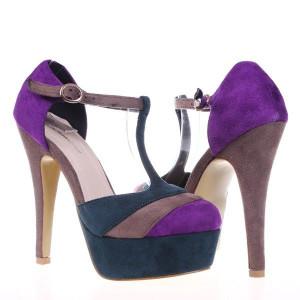 Pantofi mov Morgan