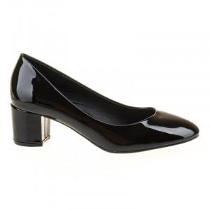 Pantofi office chic Bianca negru