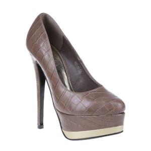 Pantofi Ronda khaki