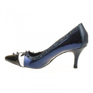 Pantofi stiletto Amira albastru