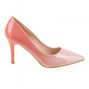 Pantofi stiletto chic Tania roz
