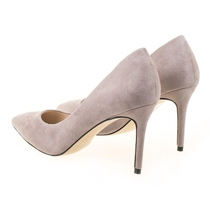 Pantofi stiletto gri Mia