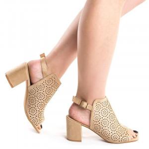 Sandale cu toc gros Chika