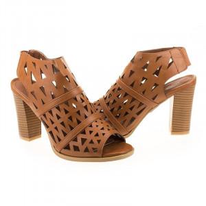 Sandale cu toc la moda Olivia