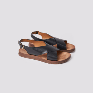 Sandale dama, casual, Negru