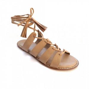 Sandale Dama, COLY, Beige