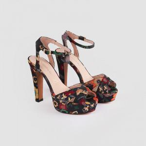 Sandale Dama ,DONNA, Negru