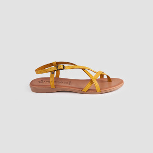 Sandale dama, ISABETA, Mustar