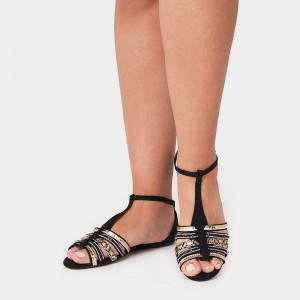Sandale Dama, ZOEY, Negru