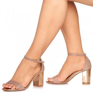 Sandale de ocazie cu toc mediu Leticia