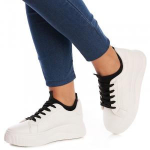Sneakers dama Martina alb
