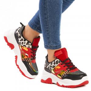 Sneakers dama Sabrina rosu