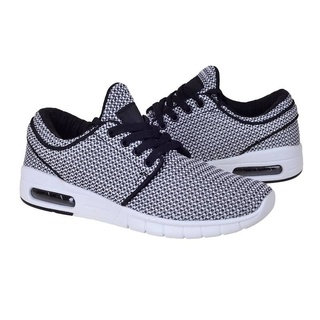 Sneakers trendy din material textil Layla